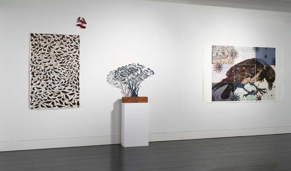 Wisdom of Birds exhibition, Latrobe Gallery, Melbourne, 2013