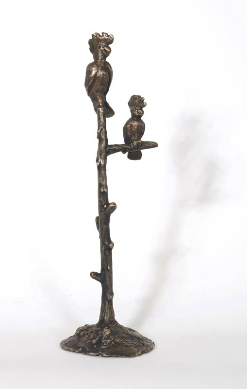 Mother and Child, H25 x W8 x D8 cm, 2017, Bronze, Ed.9 +2 AP